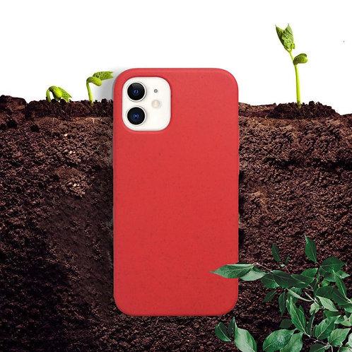 Case Para Iphone Ecologica Biodegradable Rojo