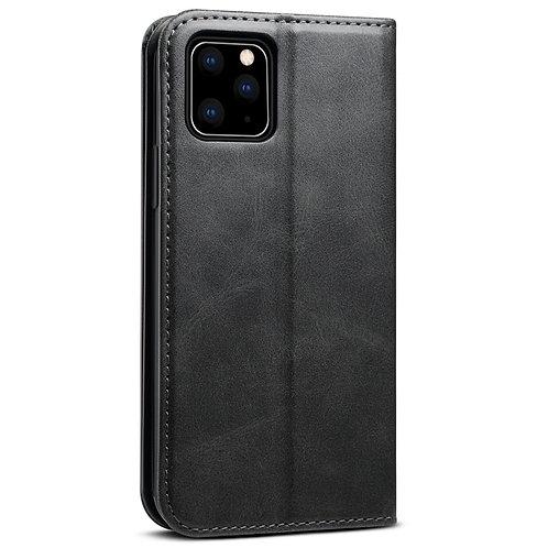 Case Para Iphone 12 Cartera Negra