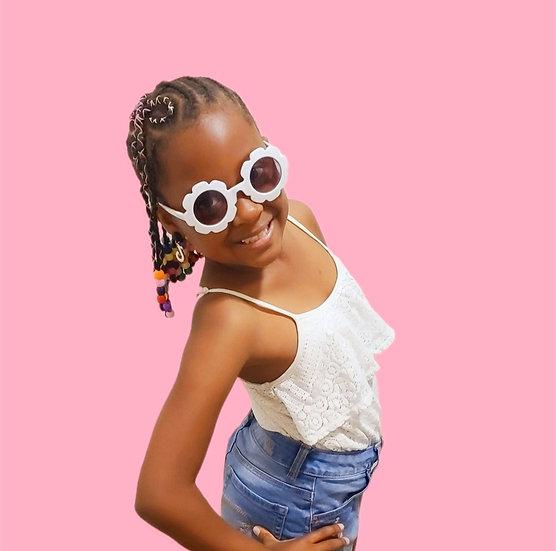 Child Flower Glasses
