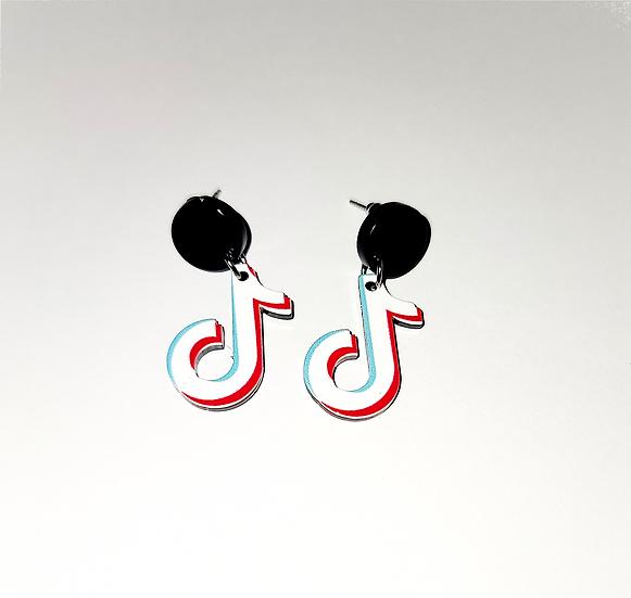 Tik Tok Earrings