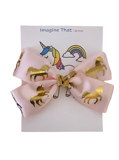 Golden Unicorn Bow