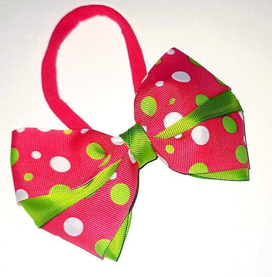 Infant Polka Dot Bow