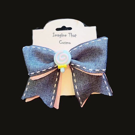 Sweets and Treats Bow (Blue)