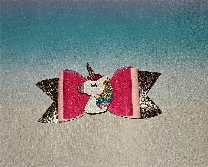 Jelly Unicorn Bow