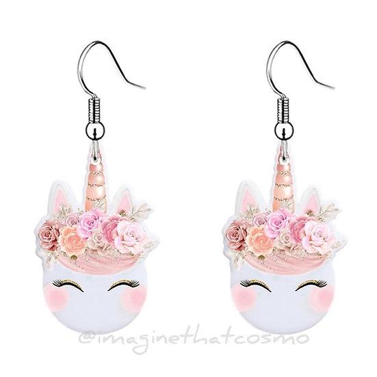 Child Unicorn Earrings