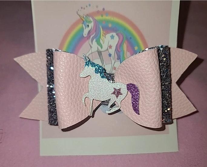 Star Unicorn Sparkles Bow