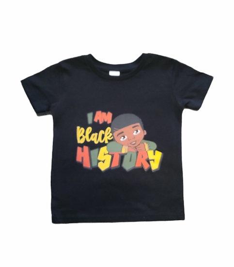 """I Am Balck History"" T-Shirt"
