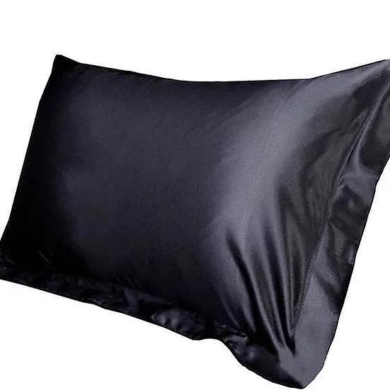 Satin Pillowcase (Black)