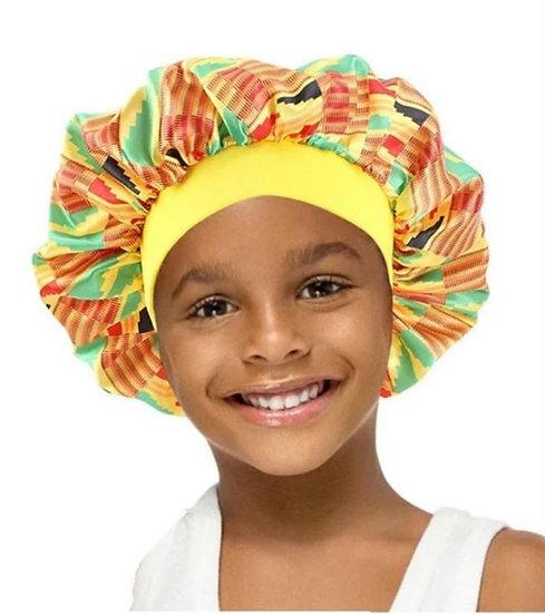 Child Satin Bonnet