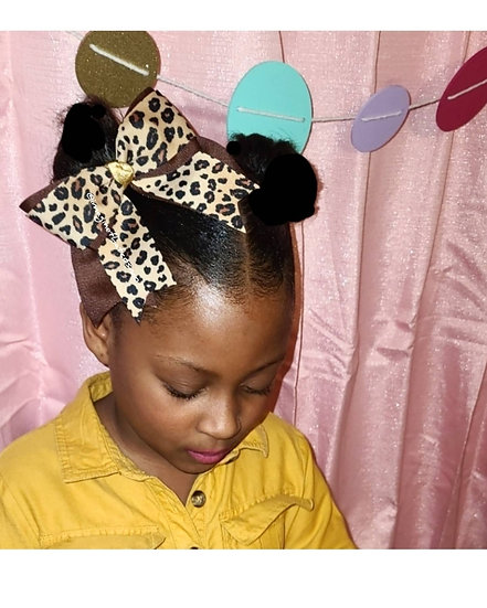 Cheetah Traditional Bow