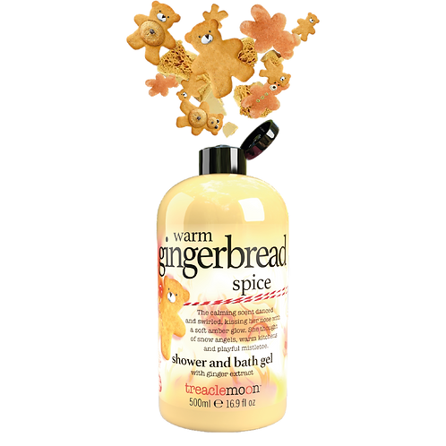 Warm Gingerbread Spice Shwr & Bath Gel 500ml