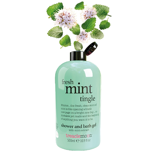 Fresh Mint Tingle Shower & Bath Gel 500ml