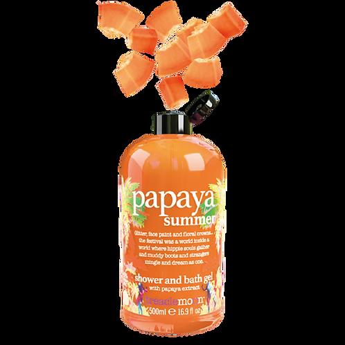 Papaya Summer Shwr & Bath Gel 500ml