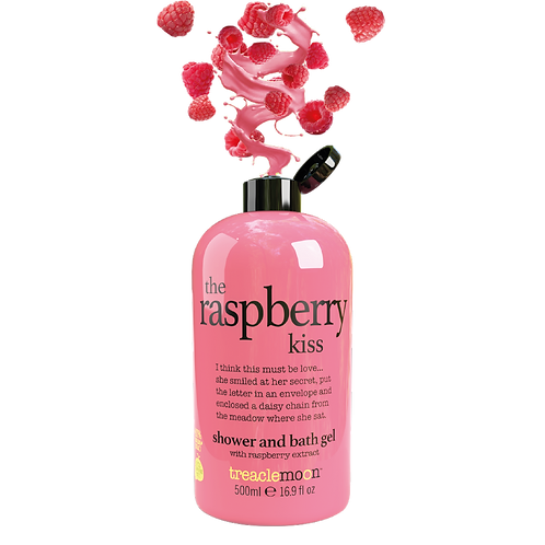 The Raspberry Kiss Shower & Bath Gel 500ml