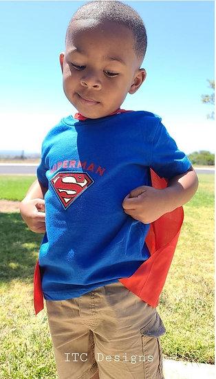 "ITCDesigns ""Superman Tee Combo"""