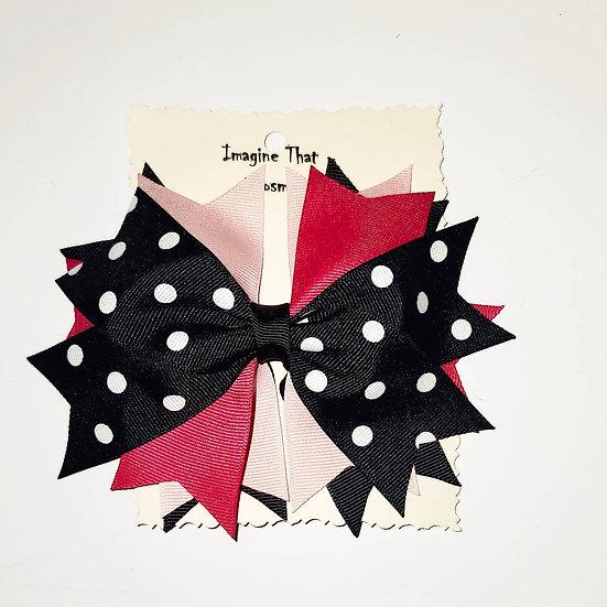 Polka-Dot Flaire Style Bow