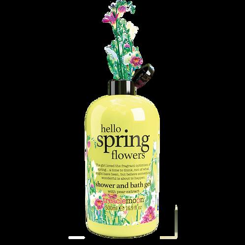 Hello Spring Flowers Shower & Bath Gel 500ml