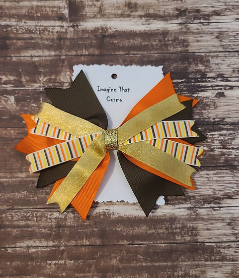 Flaire Style Leaf bow
