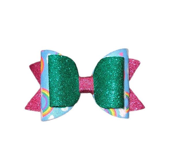 Leprechaun Rainbow Bow