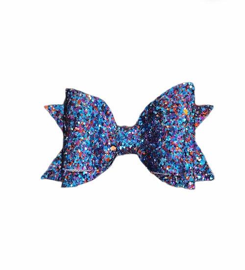 Blue Sparkles Bow