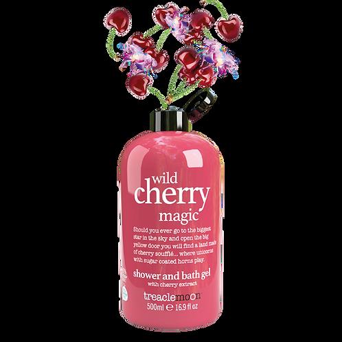 Wild Cherry Magic Shwr & Bath Gel 500ml