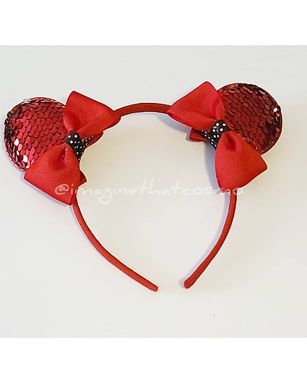 Mickey/Minnie Sequence Ears