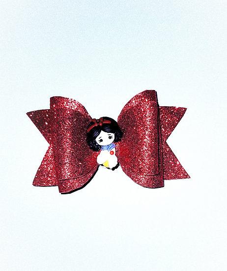 Disney Princess Bow (Sparkling Red)