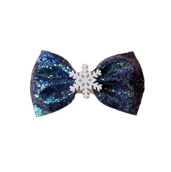 Frozen Snowflake Bow