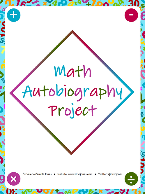 Math Autobiography Project Rubric