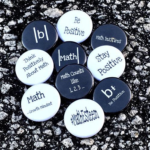 10 Small MathEsteem Buttons