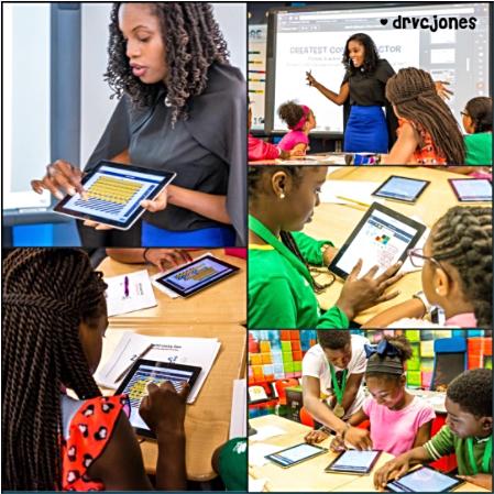 Dr. J + Technology + Classroom = #MathEsteem