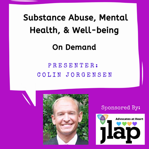 Substance Abuse, Mental Health & Well-being