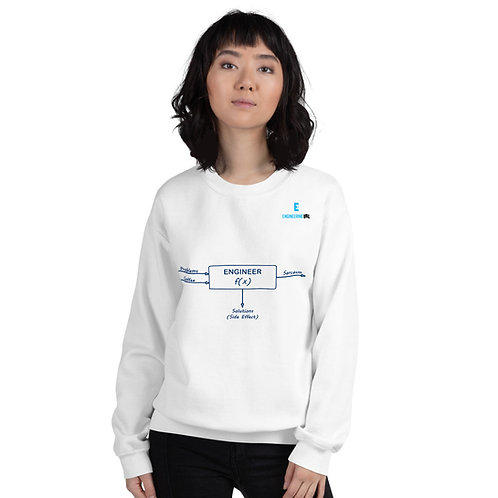 True Engineer as a Function Unisex Sweatshirt | Engineering IRL Merch