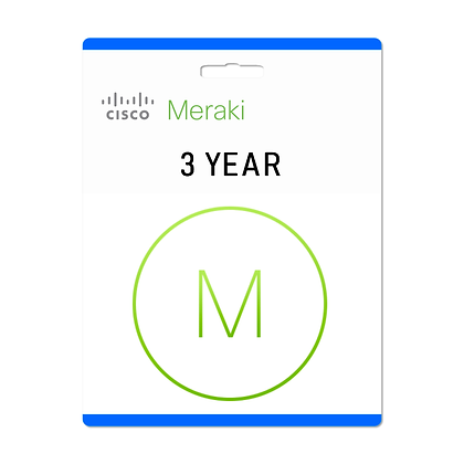 3 Year, Meraki MS220-8 Enterprise License and Support