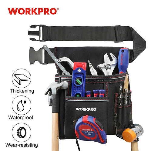 WORKPRO Engineers Full Tool Bag Belt