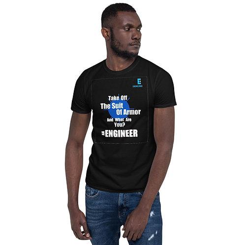 Engineer Suit Of Armor Short-Sleeve Unisex T-Shirt | Best Engineering Shirts
