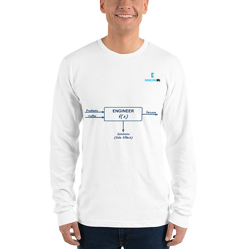 True Engineer as a Function Long sleeve t-shirt | American Apparel