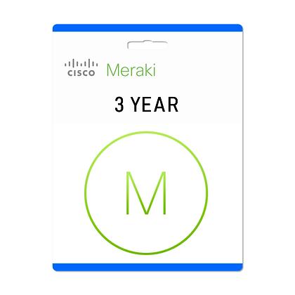 3 Year, Meraki MS390-24 Enterprise License and Support