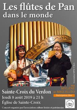 2019 08 08 Concert Flûtes de Pan Ste Cro