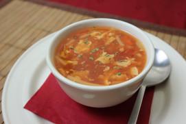 scharfe Pekingsuppe