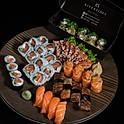 Promoção 6: Combinado Osaka (36 peças) + 10 hot filadélfia