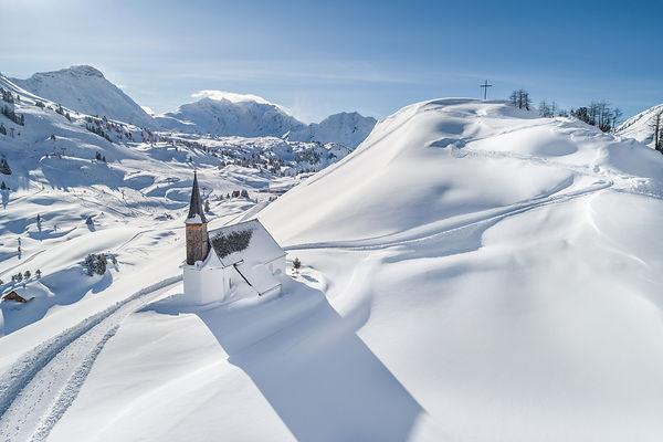 rodeln in den Alpen
