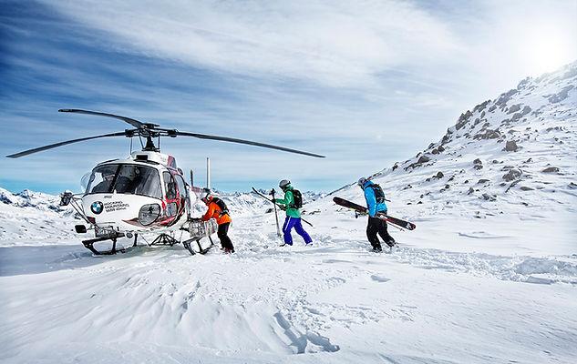 Heliskiing in Warth am Arlberg