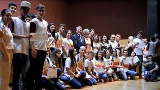 Premiação da Competição USP de Conhecimentos, a CUCo 2019