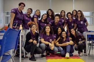 Projeto executado pelo CRID, Meninas nas Ciências, realiza oficina de robótica no Supera Parque de I