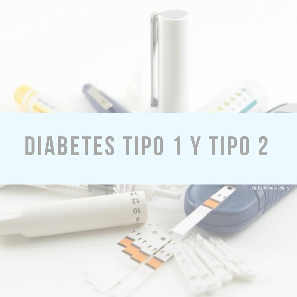 diabetes tipo 1 y 2 diferencias y