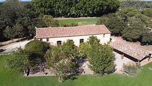 """Salle de réception """"Les Berlettes"""" au Domaine de Sulauze."""