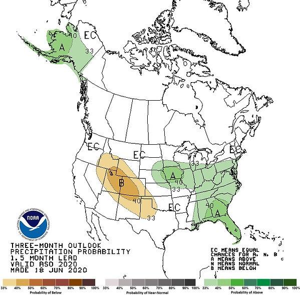 NOAA Precipitation Report 1.5 monts lead