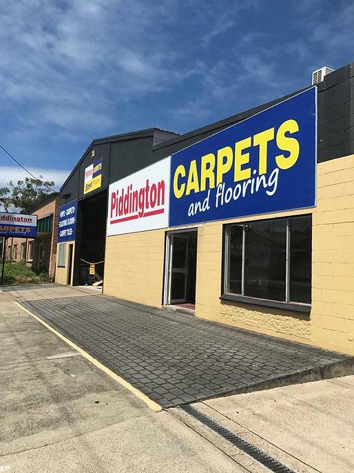 Piddington Carpets Store Front