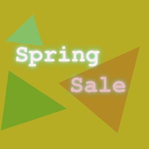 Spring sale! Plus A-ZX week with frozen lemonade